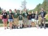 Kolka 2014. Tradicionālais foto pēc Bažu purva pārgājiena ar visiem biokrekliem un cūkzivīm, kas tajā dienā valkāti.